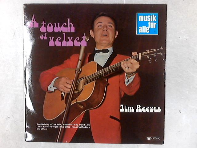 A Touch Of Velvet LP By Jim Reeves