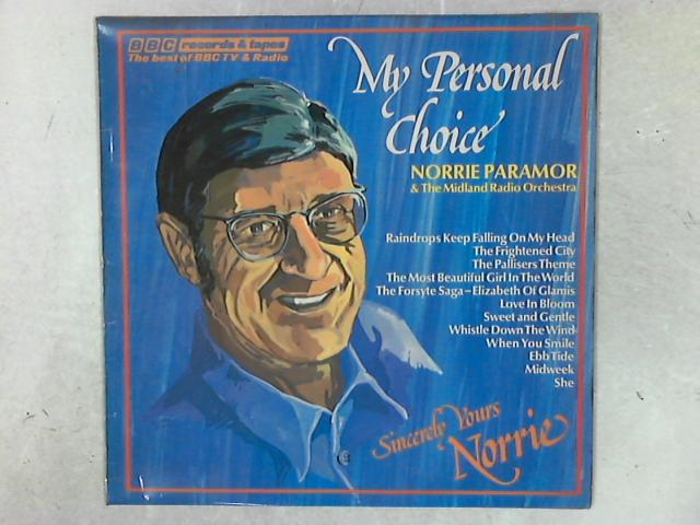 My Personal Choice LP By Norrie Paramor