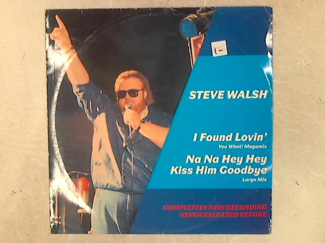 I Found Lovin' (You What! Megamix) / Na Na Hey Hey Kiss Him Goodbye (Large Mix) 12in Single By Steve Walsh