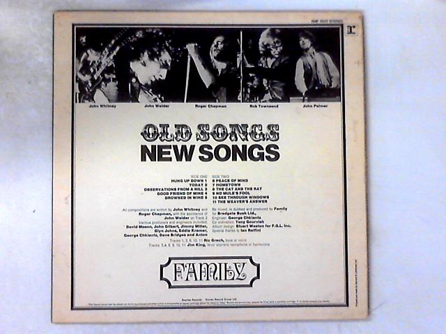 Old Songs, New Songs LP COMP By Family (6)