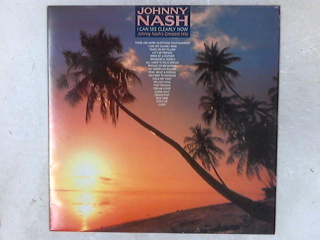 I Can See Clearly Now: Johnny Nash's Greatest Hits LP By Johnny Nash