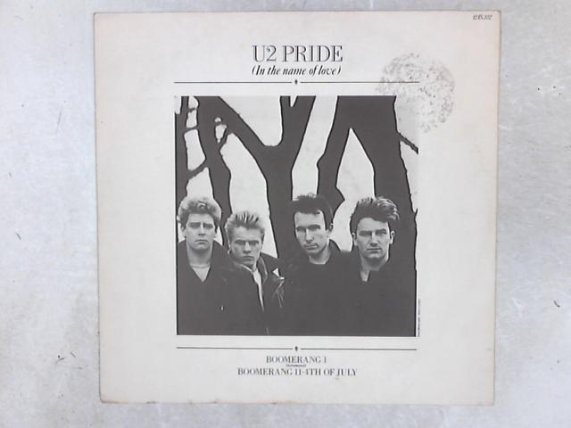 Pride (In The Name Of Love) 12in Single By U2