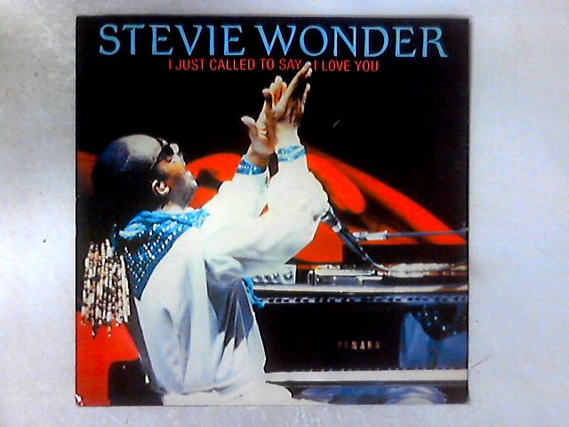 I Just Called To Say I Love You 12in By Stevie Wonder
