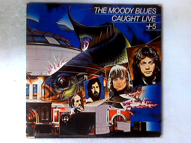Caught Live 5 2xLP GATEFOLD By The Moody Blues