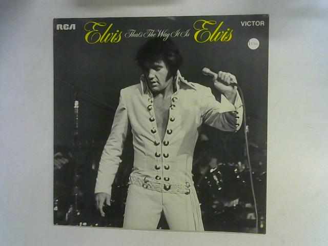 That's The Way It Is LP By Elvis Presley