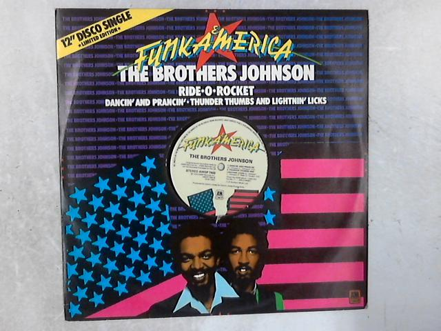 Ride-O-Rocket 12in Single By Brothers Johnson