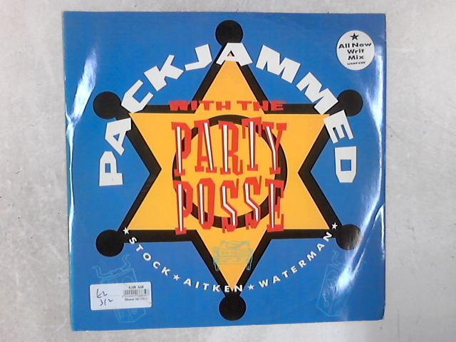 Packjammed (With The Party Posse) 12in Single By Stock, Aitken & Waterman