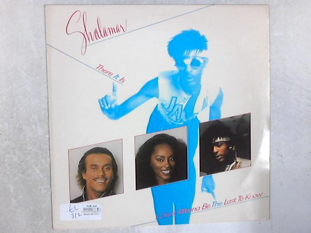 There It Is 12in Single By Shalamar