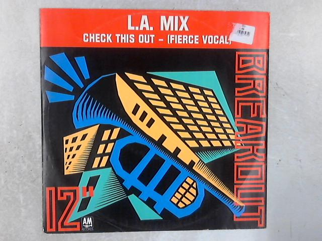 Check This Out 12in Single By L.A. Mix