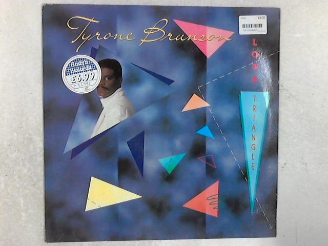 Love Triangle LP By Tyrone Brunson