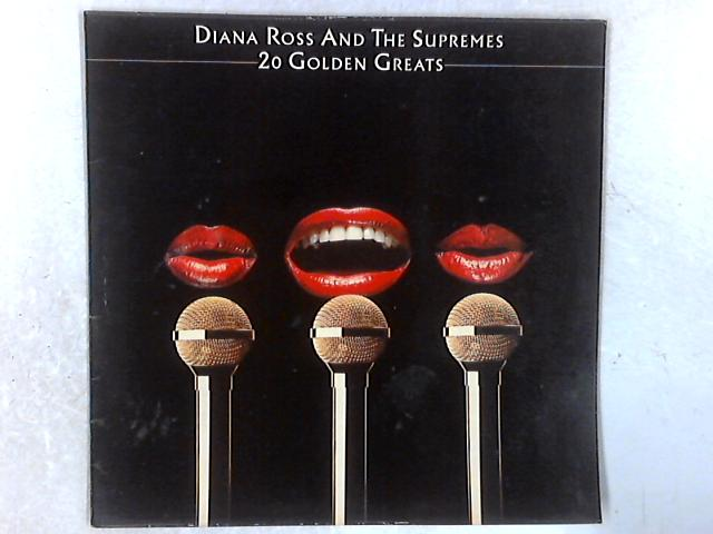 20 Golden Greats LP By The Supremes