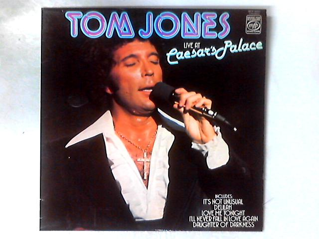 Live At Caesar's Palace LP By Tom Jones