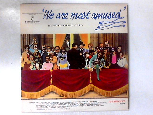 We Are Most Amused: The Very Best Of British Comedy 2xLP GATEFOLD By Various