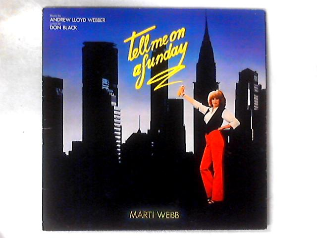 Tell Me On A Sunday LP GATEFOLD By Marti Webb
