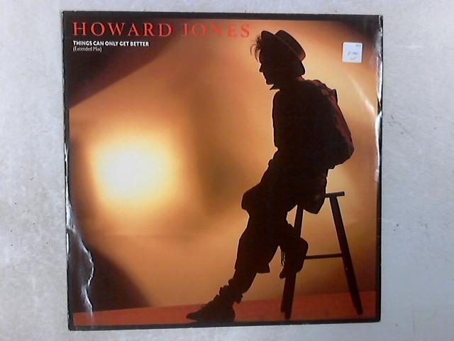 Things Can Only Get Better (Extended Mix) 12in Single By Howard Jones
