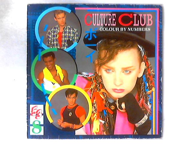 Colour By Numbers LP By Culture Club