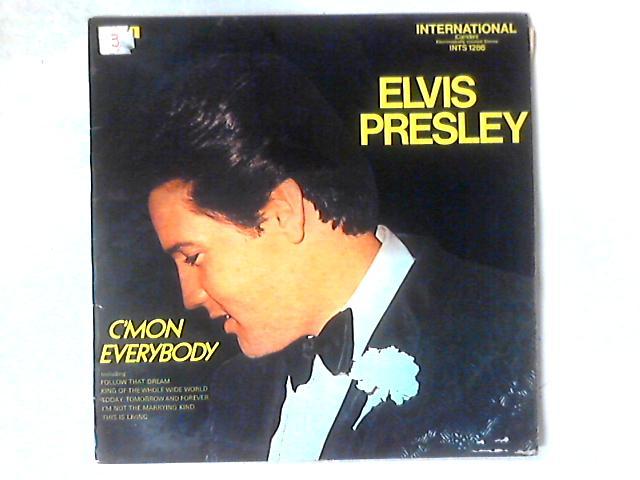 C'mon Everybody LP By Elvis Presley