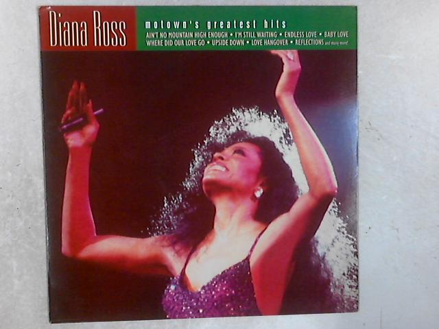 Motown's Greatest Hits LP By Diana Ross