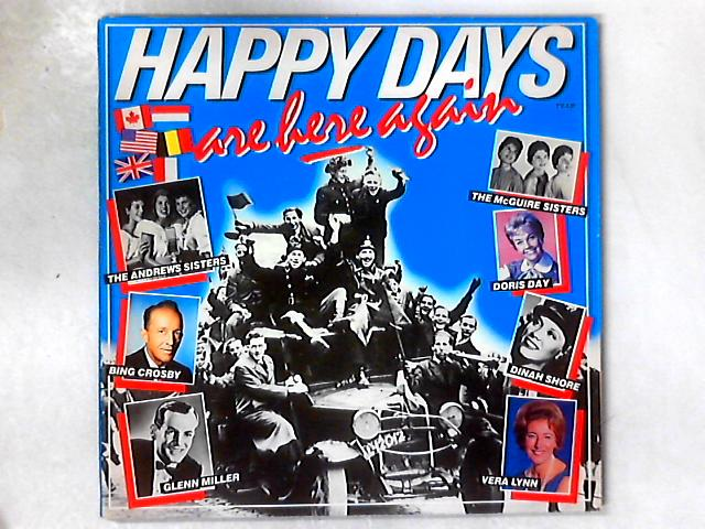 Happy Days Are Here Again 2xLP COMP GATEFOLD By Various