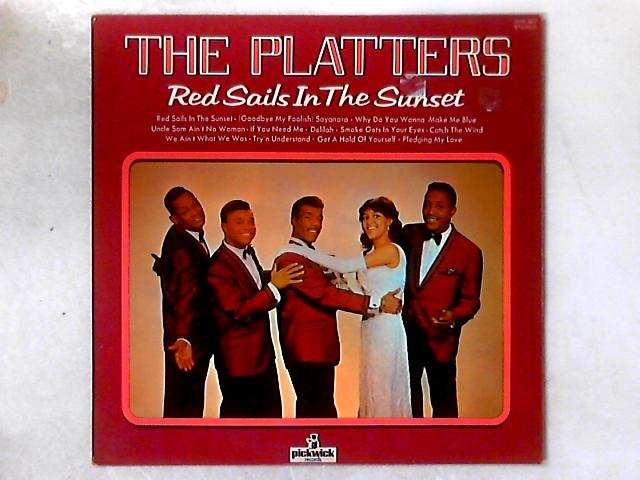 Red Sails In The Sunset LP COMP By The Platters