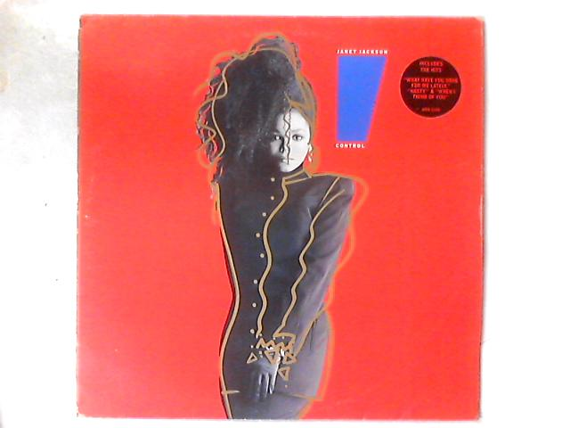 Control LP By Janet Jackson