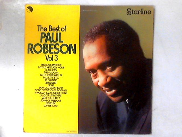The Best Of Paul Robeson Vol 3 LP COMP By Paul Robeson