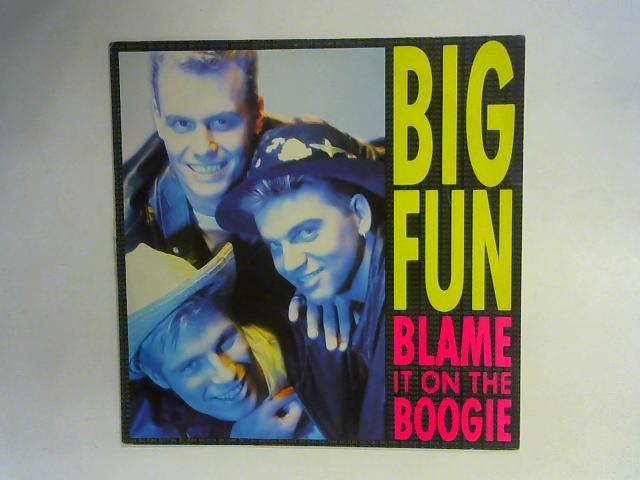 Blame It On The Boogie 12in Single By Big Fun