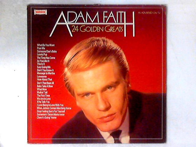 24 Golden Greats LP COMP By Adam Faith