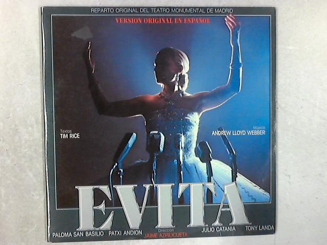 Evita (Version Original En Español) 2xLP By Andrew Lloyd Webber