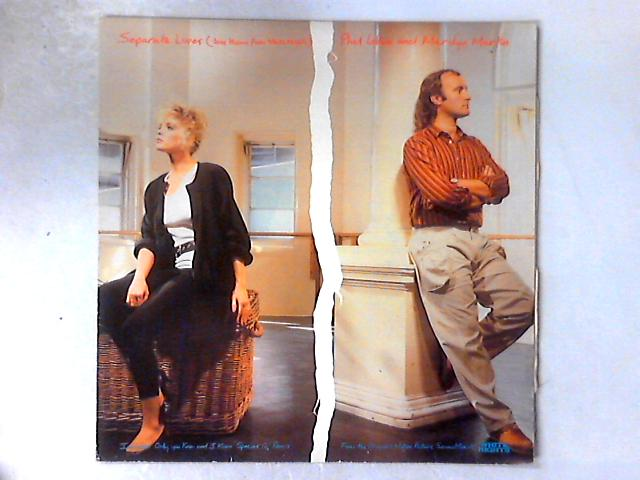 Separate Lives (Love Theme From White Nights) 12in By Phil Collins