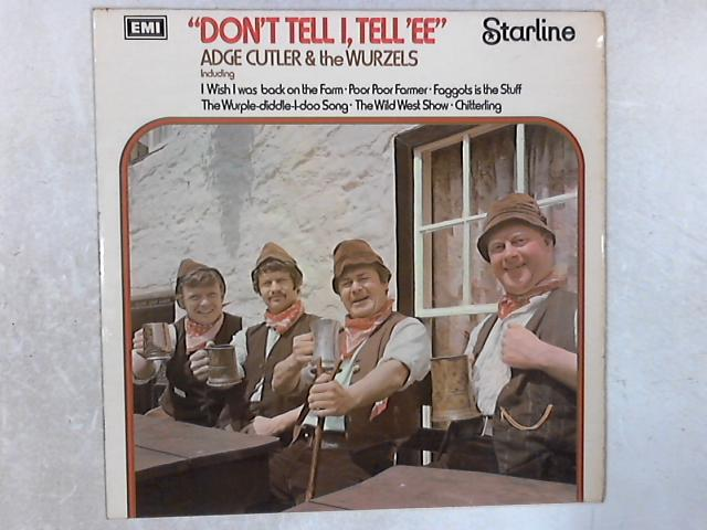 Don't Tell I, Tell 'Ee LP By Adge Cutler
