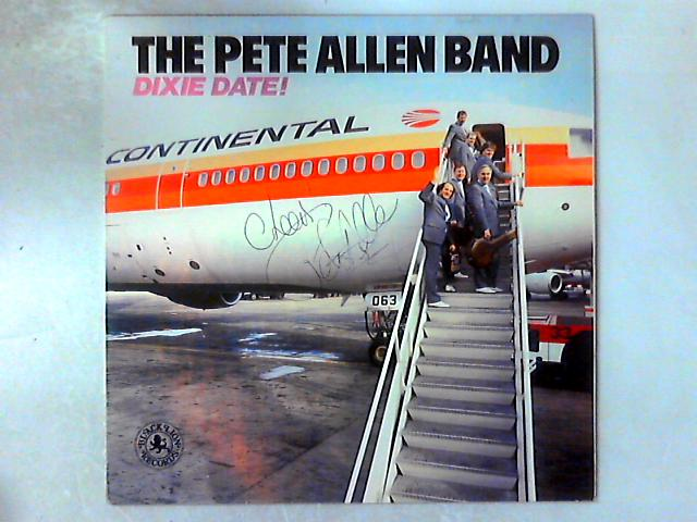 Dixie Date LP SIGNED By Peter Allen Jazz Band