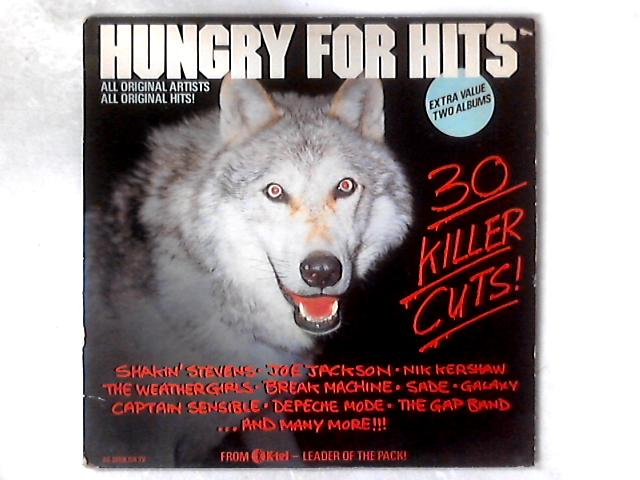 Hungry For Hits 2xLP COMP GATEFOLD By Various