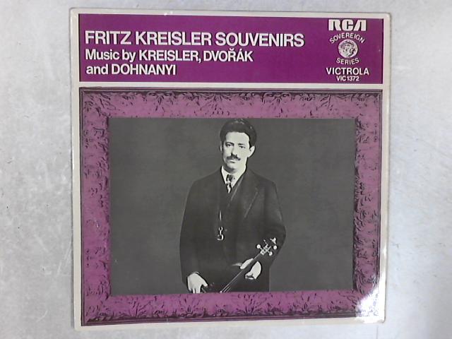 Souvenirs LP By Fritz Kreisler
