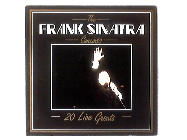 The Concerts - 20 Live Greats LP COMP By Frank Sinatra