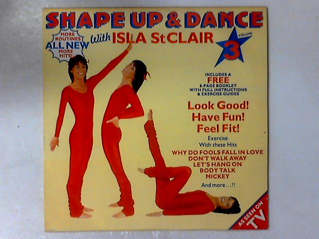 Shape Up & Dance Volume 3 LP + BOOKLET By Isla St Clair