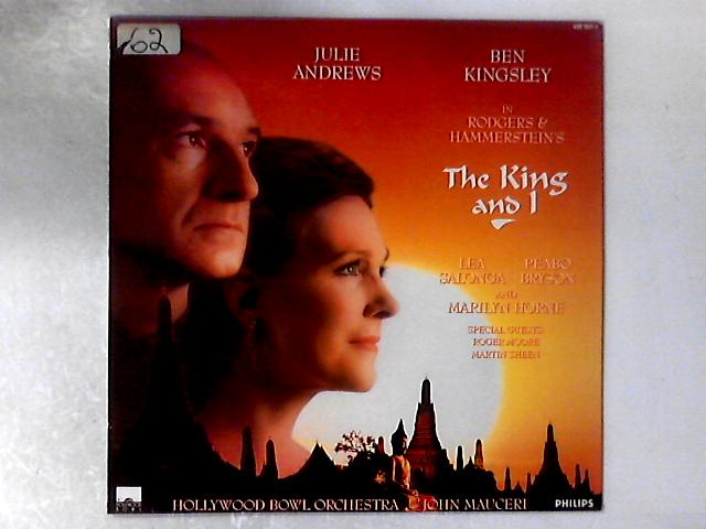Rodgers & Hammerstein's The King And I LP By Julie Andrews