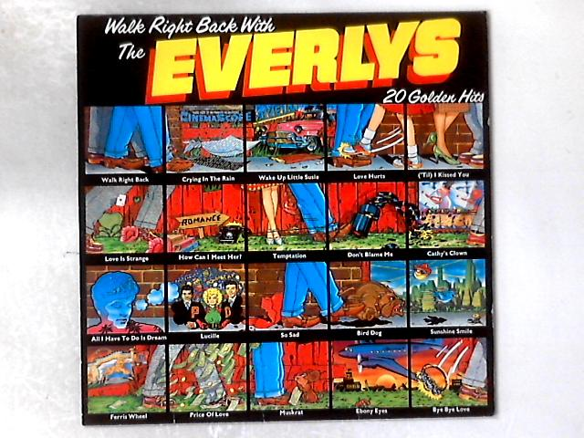 Walk Right Back With The Everlys (20 Golden Hits) LP COMP By Everly Brothers