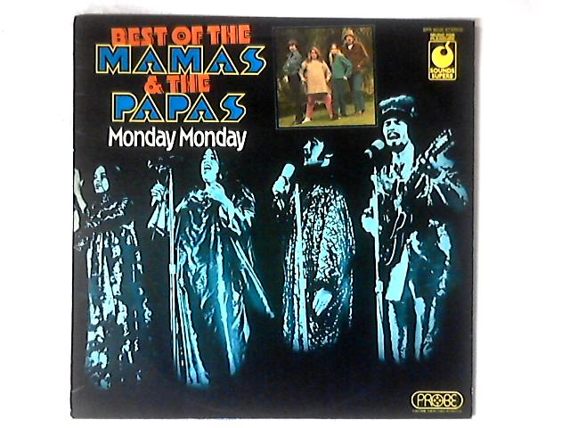 Best Of The Mamas & The Papas - Monday Monday LP COMP By The Mamas & The Papas