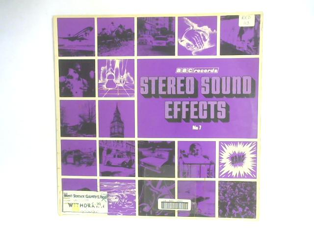 Stereo Sound Effects No. 7 LP By No Artist