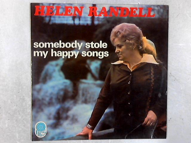 Somebody Stole My Happy Songs SIGNED LP By Helen Randell