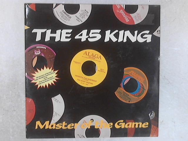 Master Of The Game LP By The 45 King