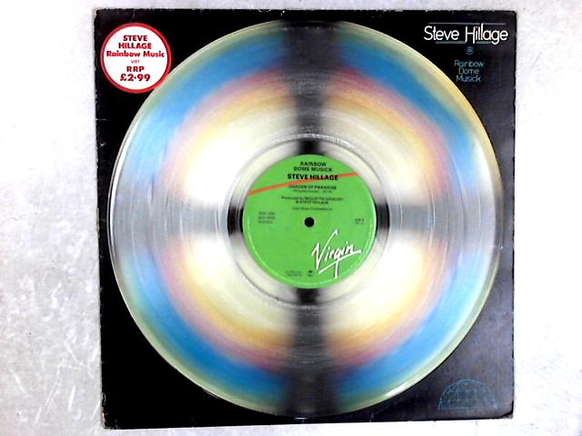 Rainbow Dome Musick Clear Vinyl 12in Single By Steve Hillage