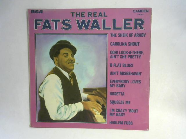 The Real Fats Waller LP By Fats Waller