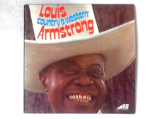 Louis 'Country & Western' Armstrong LP By Louis Armstrong