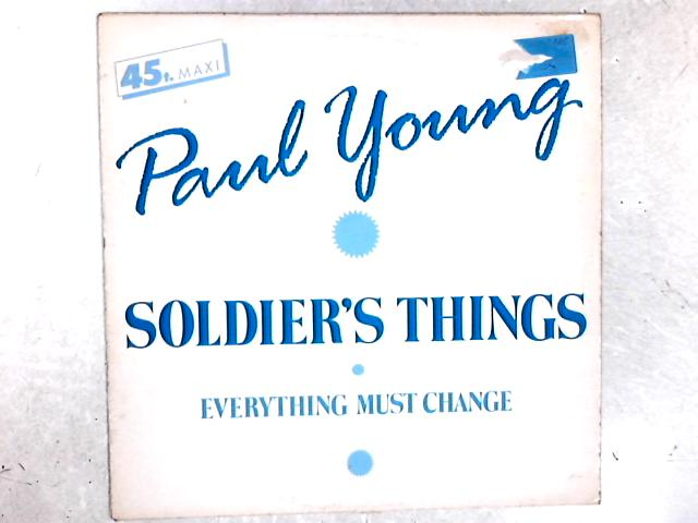 Soldier's Things 12in Single By Paul Young