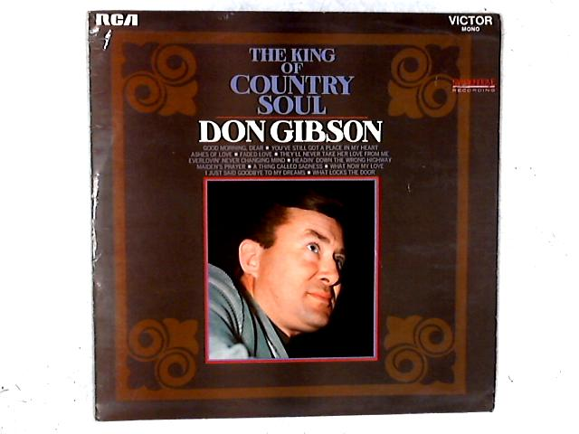The King Of Country Soul LP By Don Gibson