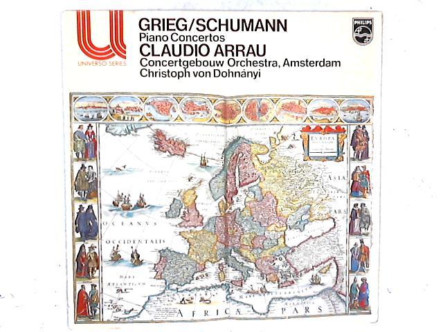 Piano Concertos LP By Edvard Grieg