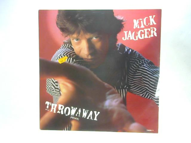 Throwaway (Remix) 12in Single By Mick Jagger