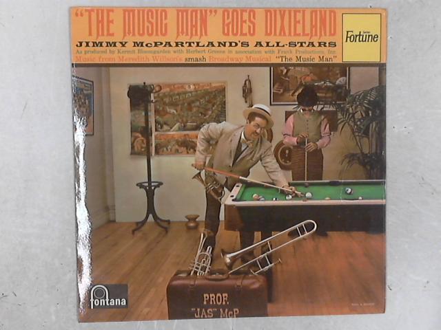 The Music Man Goes Dixieland LP By Jimmy McPartland's All-Stars
